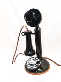 Magnificent 1928 Western Electric Dial Candlestick Phone with Ringer Box   eBay