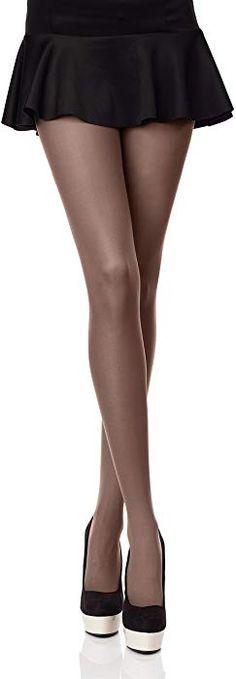 Merry Style Collant da Donna Opaco in Microfibra 40 DEN (Marrone 192a6531323