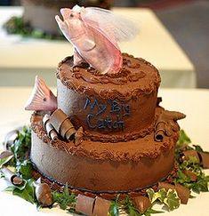 Fish wedding cake; © Tracyhornbrook | Dreamstime.com  http://www.dreamstime.com/royalty-free-stock-image-fish-cake-image6305536