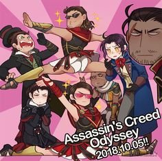 Assassin's Creed Odyssey! Assassins Creed Jacob, Assassins Creed Memes, Assassins Creed Odyssey, Assassian Creed, All Assassin's Creed, Arte Indie, Creepypasta Cute, Attack On Titan Anime, Movies