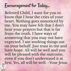 Encouragement for Today~~J Prayer Verses, Prayer Quotes, Bible Verses Quotes, Faith Quotes, Prayer Box, Faith Prayer, Prayer Cards, Daily Christian Prayers, Catholic Prayers Daily