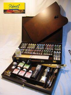 Caja de Oleos Rembrandt Excellet - The Profesional Choice — Artistica Rubens
