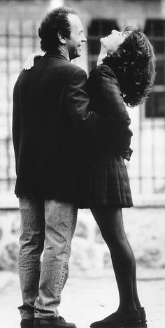 Billy Crystal and Debra Winger in Forget Paris.
