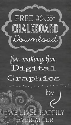 Free 20x30 Chalkboard Background Download for Digital Graphics