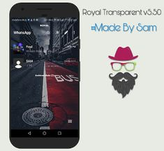 ROYAL WhatsApp Transparent v5.50 Latest Version Download Launcher Icon, Pioneer Dj, Homescreen, Messages, Text Posts, Text Conversations