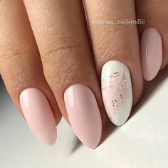 What manicure for what kind of nails? - My Nails Pretty Nails, Fun Nails, Nagellack Design, Nagel Hacks, Almond Shape Nails, Almond Gel Nails, Manicure E Pedicure, Manicure Ideas, Mani Pedi