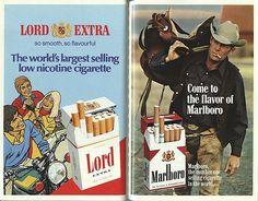 Soviet privileged shopping stores #Marlboro #cigarettes #tobacco #ads #advertisements
