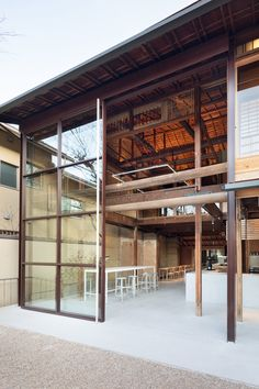 Gallery of Blue Bottle Coffee Kyoto Cafe / Jo Nagasaka / Schemata Architects - 5 Coffee Shop Design, Cafe Design, Store Design, House Design, Japanese Architecture, Interior Architecture, Le Ranch, Diy Interior Doors, Japanese Style House