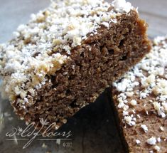 Gluten#Free # Vegan #Teff Brownies