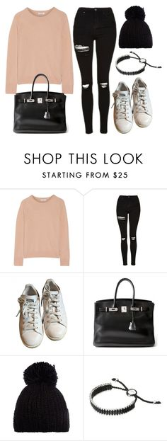 """Style #11668"" by vany-alvarado ❤ liked on Polyvore featuring Equipment, Topshop, adidas, Hermès, Barts and Links of London"