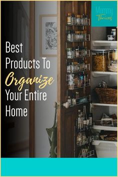 Get Rid Of Clutter With These Products - Organization Tips and Tricks For Home - Home Organization Products That Work Entryway Organization, Clutter Organization, Small Space Organization, Home Organization Hacks, Organizing Your Home, Organizing Ideas, Pantry Storage Containers, Getting Rid Of Clutter, Declutter