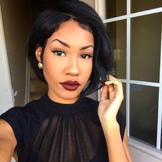 Relaxed Hair Health: How to Master the Art of the Bold Red Lip
