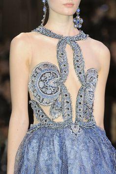 Fashion Show: Armani Privé Spring 2014 Haute Couture detail