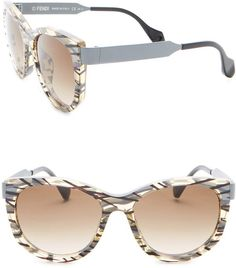 61e587e5d2 FENDI Women's Cat Eye 54mm Sunglasses ($119.97) #sunglasses #glasses #fendi  #style #womensfashion #affiliate #shopstyle #mystyle