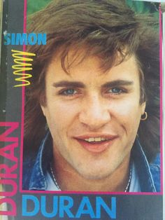 From my Duran collection Simon Le Bon, Boys, Movies, Movie Posters, Collection, Baby Boys, Film Poster, Films, Popcorn Posters