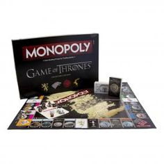 Game of Thrones Monopoly Edition Standard Anglais: HBO Shop Europe