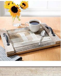 DIY Pallet Projects - Enjoy the rich character of recycled wood in the crafty designs inside Do-It-Yourself Pallet Projects from Leisure Arts. The unique home accessories and gifts are all easy to create from used wood shipping pallets or unfinished pallet-style wood pieces purchased from a craft store. Make a few simple cuts, add trims or finishes, and enjoy the compliments! Projects include Landscape (painting mounted on pallet slats), Photo Collage (pallet), Frame (photo on distressed…