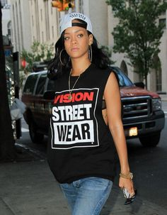 Rihanna's Style: Be Bold in a Baseball Cap | I Am Jason Lee