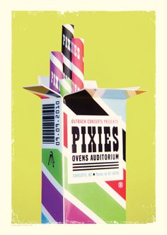 The Pixies by LA LA LAND PRINTS
