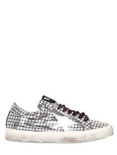 Golden Goose Disco Ball Sneakers #silver #metallic #shoelust