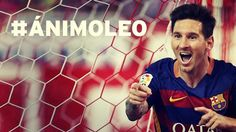 hashtag #ánimoLeo Força Leo! Força Barça!