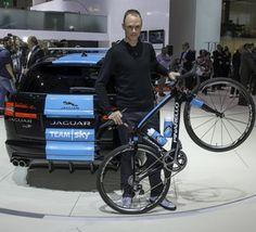 Chris Froome Joins Jaguar Geneva Motor Show