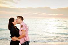 love sunset sea love sunset sea kiss