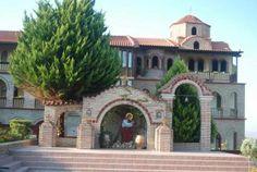 Fantastic Greece via Facebook  Land of faith: #Monastery of Saint Ephraim of Syria, #Kondariotissa, #Pieria, #Macedonia, #Greece  Η Μονή του Αγίου Εφραίμ του Σύρου στην Κονταριώτισσα Πιερίας  #SaintEphraimSyria  http://anemonpnoi-magdalini.blogspot.gr/2011/08/blog-post_19.html https://www.facebook.com/photo.php?fbid=796945737016745