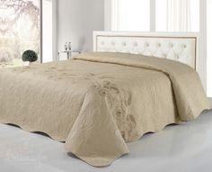 Купить покрывало стеганое с вышивкой НАОННО 240х260 от производителя Cleo…
