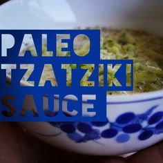 Paleo Tzatziki Sauce -pair w/lamb, mint etc. or those delicious greek-like zucchini burgers (1 cup shredded zucchini, 1/2 cup full fat coconut milk, garlic, lemon juice, dried dill, s&p)