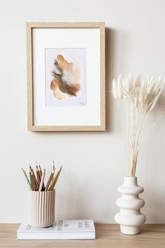 Neutral Walls, Neutral Tones, Beige Art, How To Make Paint, Soothing Colors, Modern Farmhouse Decor, Small Paintings, Floral Wall, Print Pictures
