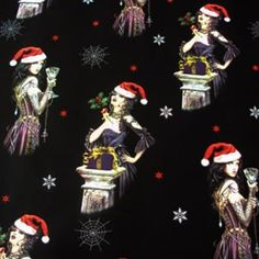 Alchemy Gothic Wrapping Paper and Tags in Wrapping Paper for Gothic Gift and Cards Luxury Christmas roll wrapping paper featuring Alchemy Gothic artwo