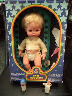 BABY MOCOSETE Doll Toys, Baby Dolls, Holly Hobbie, Old Dolls, Childhood Toys, Retro Toys, Sweet Memories, Vintage Dolls, Nostalgia