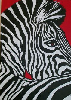 Black, White, Red.