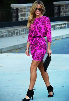 Printed Silk by Happily Grey : Fashion Inspo! and those shoes.... love!!