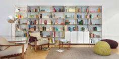 Design Möbel Aufbewahrung, Regalsystem, Regal mit Türen   System 180