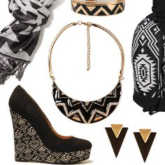 Trending Now: Chic Nomad Tribal Ethnic Print from Forever 21