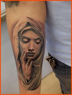 famous virgin mary tattoos - Google Search