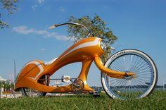 Worlds Coolest Bicycles by Jason Battersby, via Behance