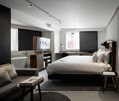 Blocks Of Letters Express The History Of This New Hotel In Amsterdam