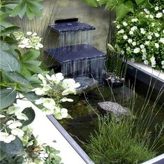 30 Beautiful Backyard Ponds And Water Garden Ideas.  Each one is more beautiful and amazing than the one before! #watergardens #GardenPond  #WaterGarden