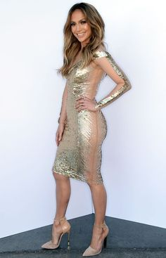 43. #Georges Chakra Gold #Gown, American Idol, #April 24, 2014 - 46 Killer #Jennifer Lopez #Looks from 2014 ... → #Celebs #American