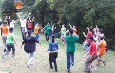 ATIVIDADES TEAM BUILDING Fugir ao stress e à rotina diária, com momentos de cooperação e trabalho em equipa!