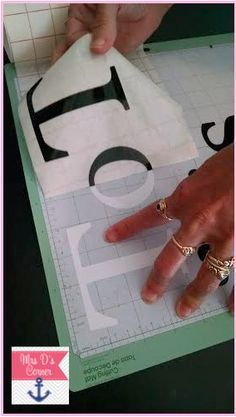 Want to learn how to cut out vinyl letters for your classroom using a Cricut machine? Check out this blogpost with step-by-step pictures showing you how easy it is!