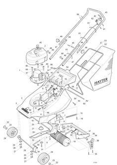 Hayter Harrier 41 - 313N001001 Spare Parts Machine diagrams Schematics Shoulders of shoreham www.shouldersofshoreham.co.uk