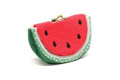 Cool soothing watermelon wallet purse by misala on Etsy, $49.90