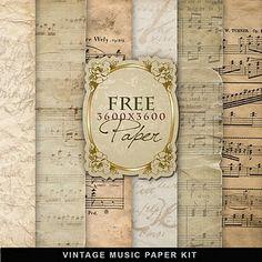 freebie music paper