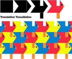 A super simple tessellation for young students: translation tessellation! Kids are given a square. They cut a piece off of the left a. High School Art, Middle School Art, Tessellation Patterns, Art Origami, Math Patterns, Tile Patterns, Tesselations, Art Activities For Kids, Science Activities
