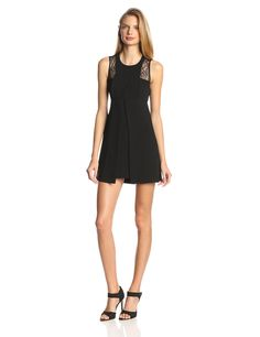 Racerback Dress with Cutout Back by BCBGeneration
