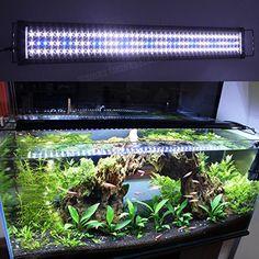 NEED! Zeiger Eco Aquarium Hood Led Lighting Fish Lamp Freshwater and Saltwater decorations Light